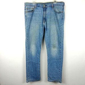 Levis 504 Mens Sz 38x34 Jeans Straight Leg